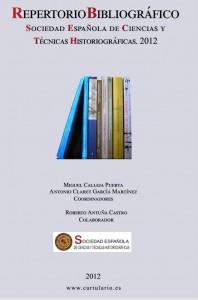 REPERTORIO BIBLIOGRÁFICO DE CIENCIAS Y TÉCNICAS HISTORIOGRÁFICAS 2012