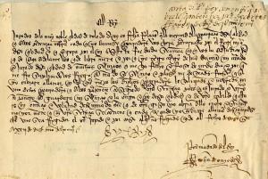 Exposición. La escritura cortesana en los documentos reales del Archivo Municipal de Toledo