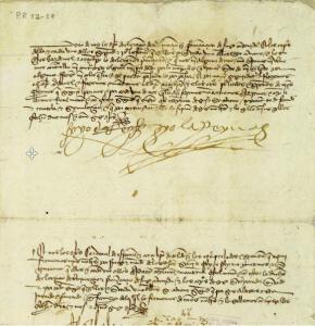 Concordia de Segovia entre Isabel I de Castilla y Fernando II de Aragón