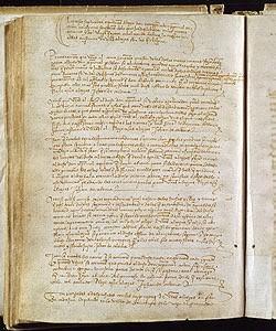 Traslado digitalizado de las Capitulaciones de Santa Fe de 1492