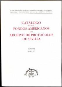 Catálogo de Fondos Americanos del Archivo de Protocolos de Sevilla