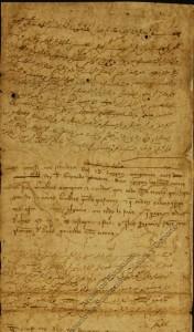 Minuta de tratado de paz entre Jaime II de Aragón y Muhammad II de Granada escrita en castellano y árabe [1296]