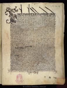 Testamento de la reina Isabel la Católica. 1504.