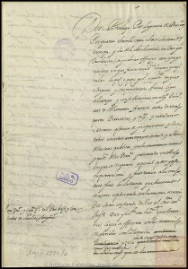1641. Poder de Felipe IV a Fernando de Austria, Cardenal Infante, para negociar la paz con Francia.