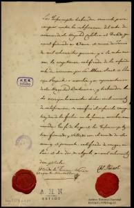 1817. Anexión de España al tratado del Congreso de Viena