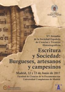 Escritura y Sociedad: burgueses, artesanos y campesinos