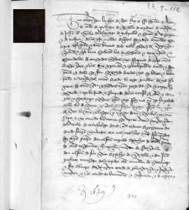 Enrique IV para que la infanta Dª. Isabel fuese jurada Princesa heredera