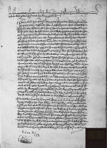 Capitulaciones entre Enrique IV y la infanta Isabel de Castilla