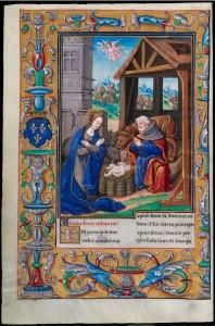 Nacimiento de Jesús. Lectionarium missae.